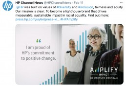 HP Channel Twitter