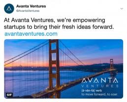 Avanta Ventures Twitter