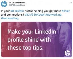 HP Channel Twitter