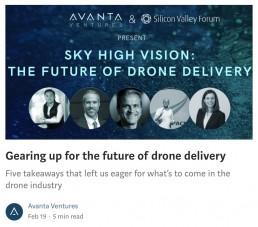 Avanta Medium Article - Drone Event