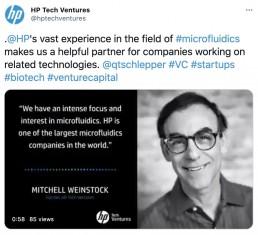HP Tech Ventures Twitter