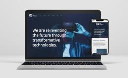 HP Tech Ventures Website