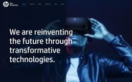 HP Tech Ventures Homepage
